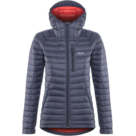 Rab Microlight Alpine Long Jacket Women grey